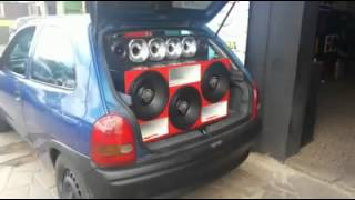 Everest sound car - Corsa Kaos x Gol Eros
