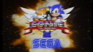 Old 1990s SEGA TV Commercials - Sonic, Golden Axe, Ghouls & Ghosts, Super Monaco, Bubsy, Wonderboy