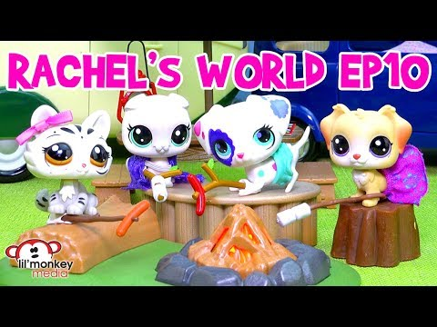 LPS - Rachel's World Ep 10 - Camping with Friends! 🐶