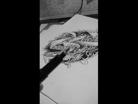 cara membuat kaligrafi menggunakan sterofoam