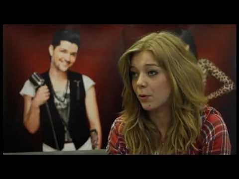 """The Voice UK : Becky Hill interview """"Having a crush on Jessie J"""""""