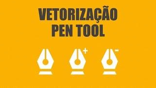 #Illustrator - Como vetorizar uma imagem [Pen Tool]