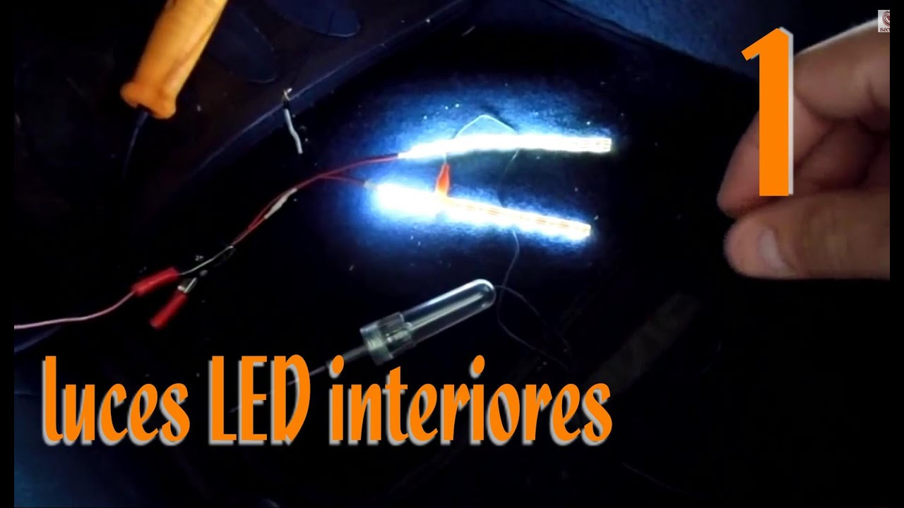 Instalaci n de luces led interiores en el auto a detalle parte 1 youtube - Luces led para salon ...