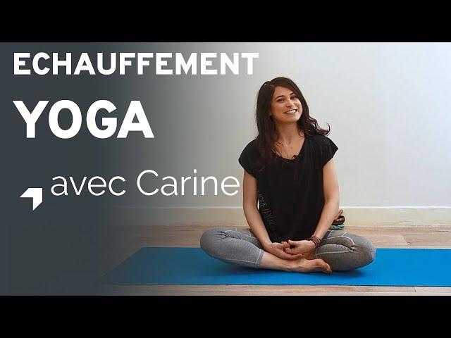 Yoga : échauffement
