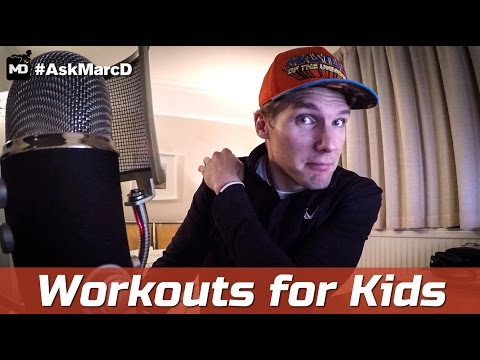 [Ep.2] HOW TO WORKOUT FOR KIDS TO LOSE WEIGHT & GET STRONGER | #AskMarcD