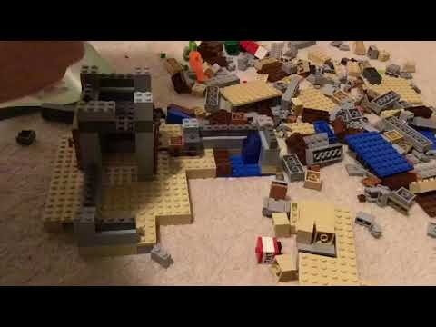 LEGO Minecraft: The Desert Outpost Timelapse