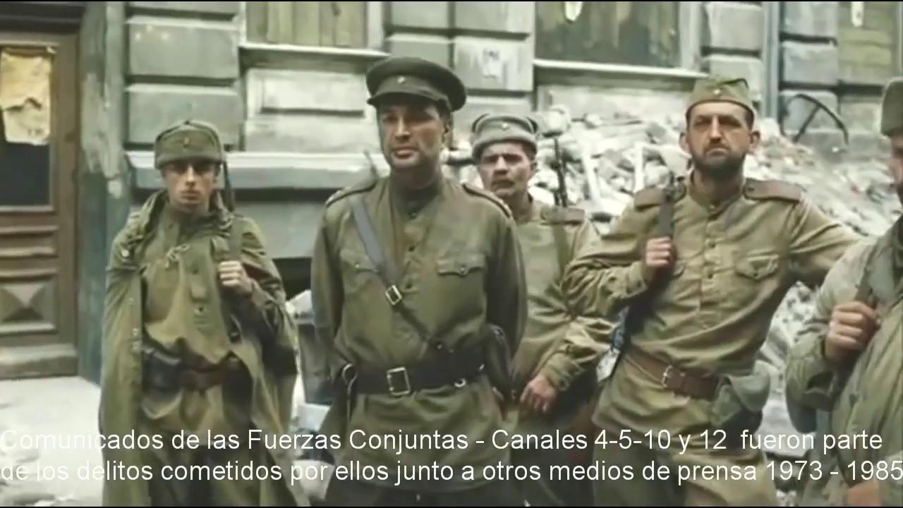Comunicados de las Fuerzas Conjuntas en Uruguay - 1973 - 1985 - 720P HD - YouTube