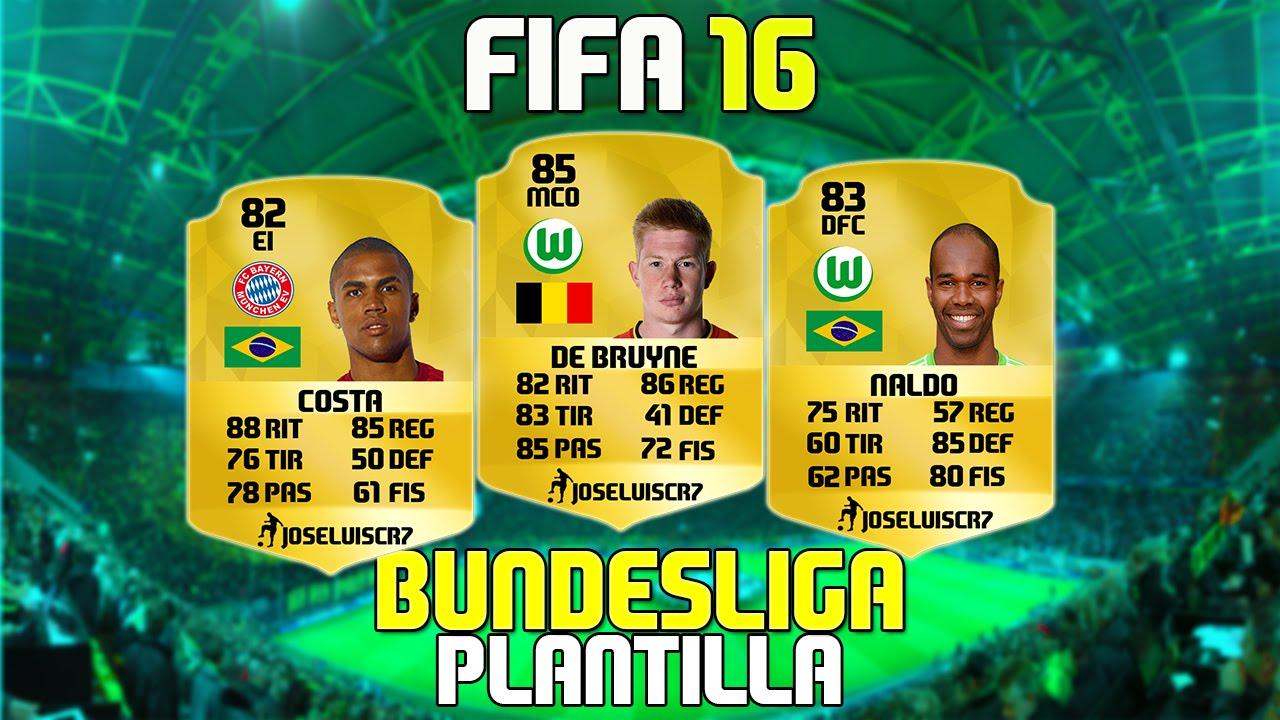 Fifa 16 Ultimate Team Bundesliga