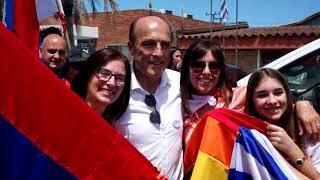 La vicepresidenta Lucía Topolansky analizó la recta final de la campaña hacia el balotaje