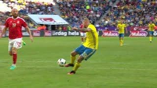 Höjdpunkter: Guidetti målsskytt när Sverige besegrade Wales - TV4 Sport