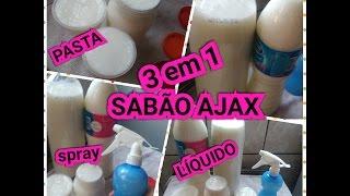 SABÃO AJAX 3 em 1