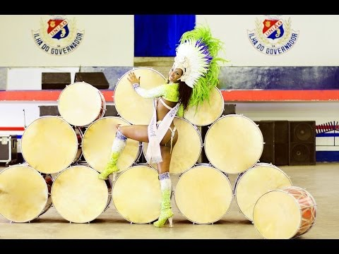 2 HOURS SAMBA DRUMMING VIDEO: BATERIAS FROM DIFFERENT SAMBA SCHOOLS RIO