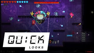 Neon Abyss: Quick Look (Video Game Video Review)
