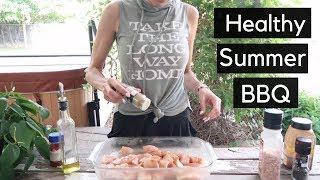 HEALTHY SUMMER BBQ 🍢 Quick, easy healthy BBQ ideas!