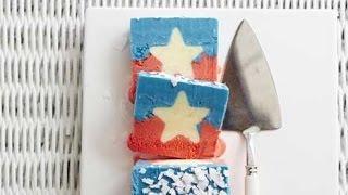 Frozen Yogurt Icebox Cake Recipe With Hidden Stars