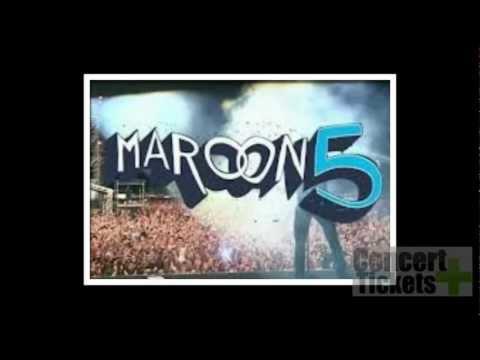 Maroon 5 Concert Tickets 2013 Tour