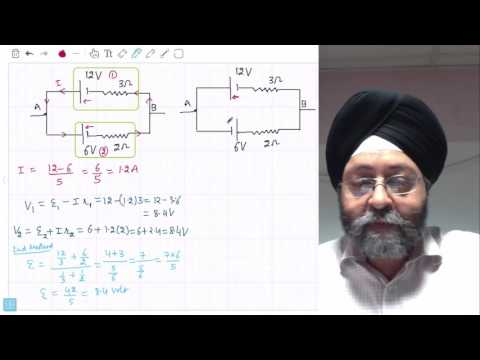 """Current Electricity Kirchhoff """"s Laws"""