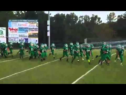West Stanly middle school football team