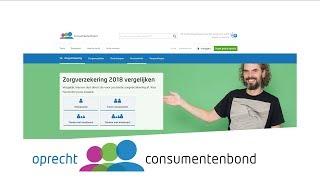 Zorgvergelijker - Demo (Consumentenbond)