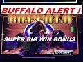 ★BUFFALO ALERT ! SUPER BIG WIN BONUS ★☆Buffalo Legends slot machine ☆$2.00 Bet