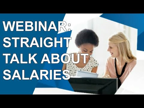 WEBINAR: Straight Talk About Salaries (Office Team)