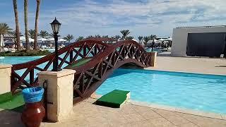 оБЗОР отеля Queen Sharm Resort (Vera Club Queen Beach 4*) ВТОРАЯ  ЛИНИЯ ОТЕЛЯ