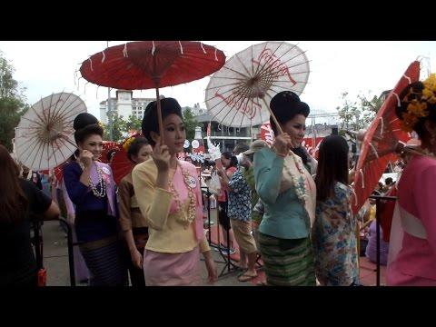 ประกวดสงกรานต์เชียงใหม่2558/Chiang Mai Songkran Festival Contest 2015-1