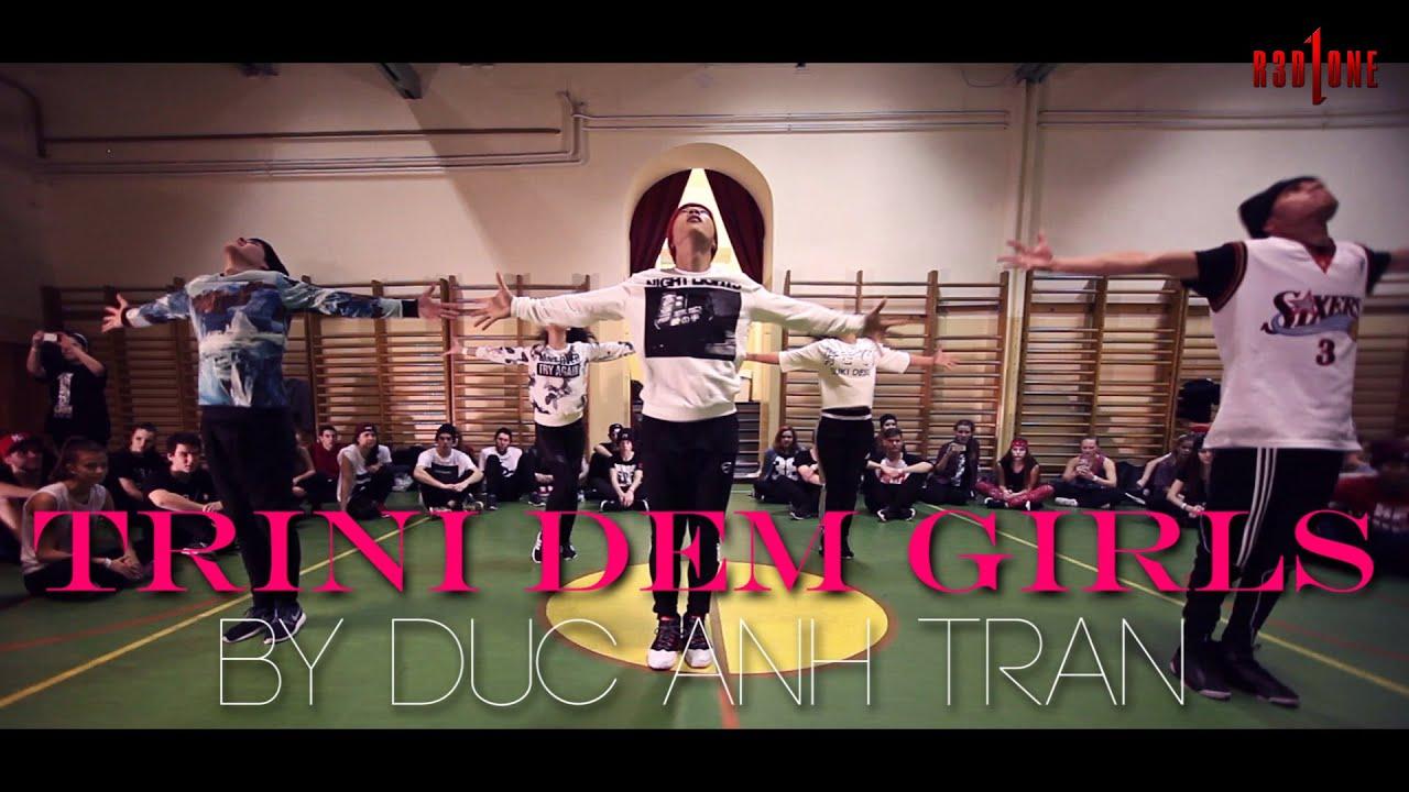 """Nicki Minaj """"TRINI DEM GIRLS"""" Choreography by Duc Anh Tran Duki ficial NickiMinaj"""
