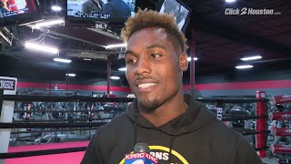 Jermall Charlo excited about Houston fight
