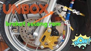 MODIFIKASI VARIO 150 ''RECEH''( UNBOX dan pasang breket/kleman kabel rem depan vario)