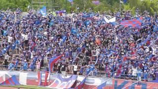 2012年5月20日にホーム中銀スタジアムにて行われたヴァンフォーレ甲府対...