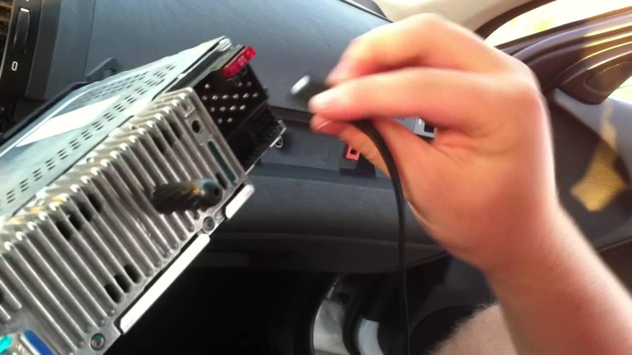 2011 Bmw X5 Wiring Diagram Bmw E46 Aux Installation Diy Youtube