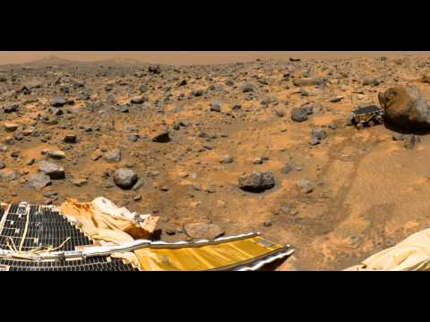 Real View Of The Mars | Pictures showing proof Of Alien published  by NASA.