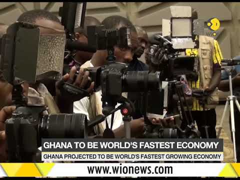 Ghana projected to be world's fastest growing economy