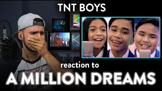 TNT Reaction A Million Dreams Cover (Blown Away!) | Dereck Reacts