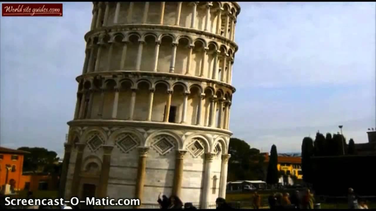 Det skæve tårn i Pisa - YouTube