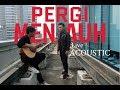 RIZKY FEBIAN - PERGI MENJAUH ( LIVE ACOUSTIC ) #albumjejak