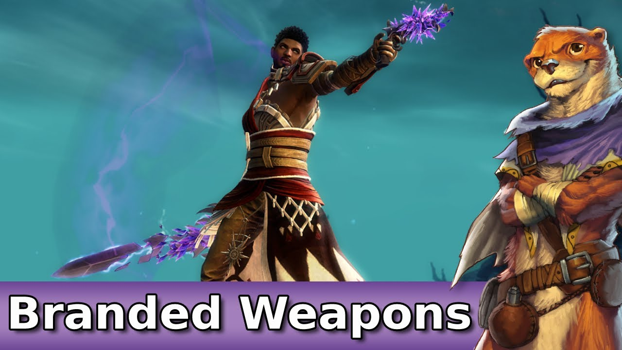 Branded Weapons Set Preview ► Guild Wars 2