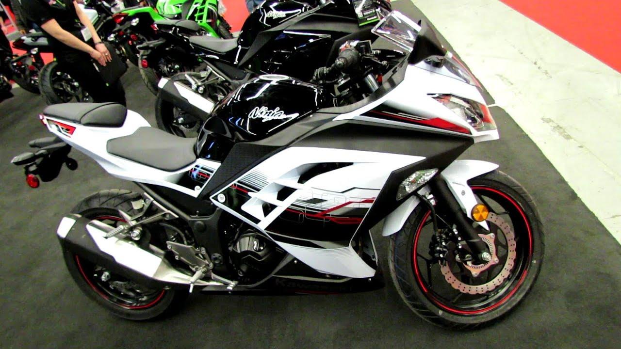032414ee2bebd2 2014 Kawasaki Ninja 300 ABS SE Walkaround - 2014 Montreal Motorcycle Show