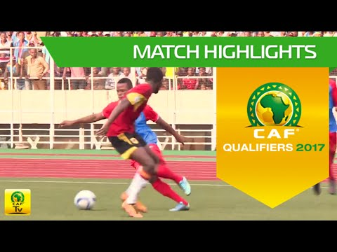 DR Congo vs Angola | Africa Cup of Nations Qualifiers 2017