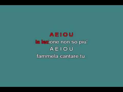 A E I O U [karaoke]