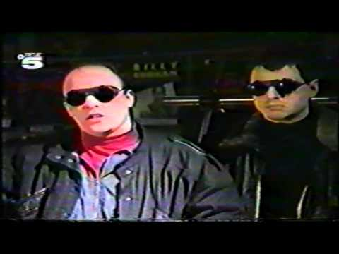 Front 242 - Interview + First In / First Out (German TV, Tele5)