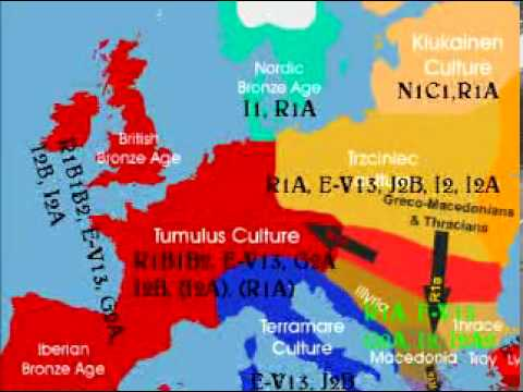 EUROPEAN GENETIC ORIGIN archeogenetic study