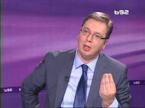 Aleksandar Vučić o Bogoljubu Kariću  Intervju B92