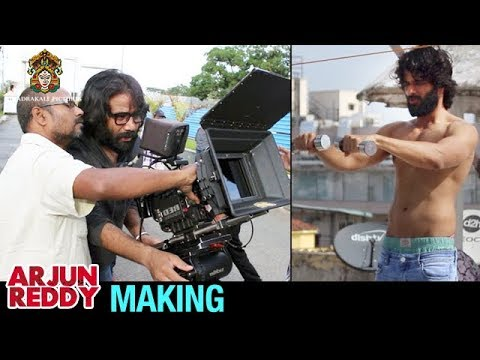 Arjun Reddy Making | Vijay Deverakonda | Shalini | #ArjunReddy Movie Making | Bhadrakali Films
