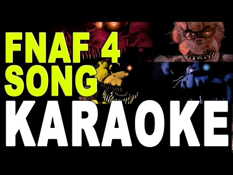 FIVE NIGHTS AT FREDDY'S 4 SONG Instrumental / Karaoke (TryHardNinja and Smike)