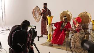 Diamond Platnumz ft Rayvanny Salome behind the Scene (part 1)