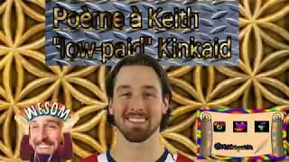 PoÈme À Keith Kinkaid (canadiens Montreal)