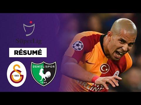 Résumé : Galatasaray colle 6 buts à Denizlispor et retrouve le podium !