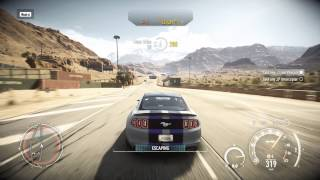 Need for Speed Rivals Gameplay Chapter 4 Ford Mustang GT500, G3258 GTX 750 Ti